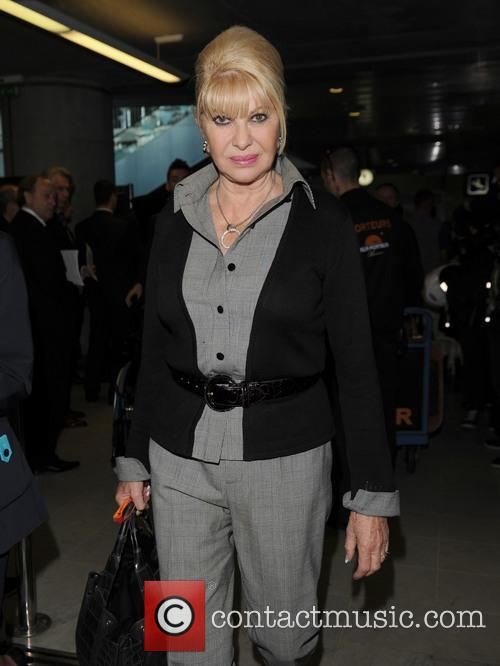 ivana trump celebs arriving at nice airport 3670119