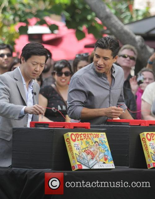 Ken Jeong and Mario Lopez 6