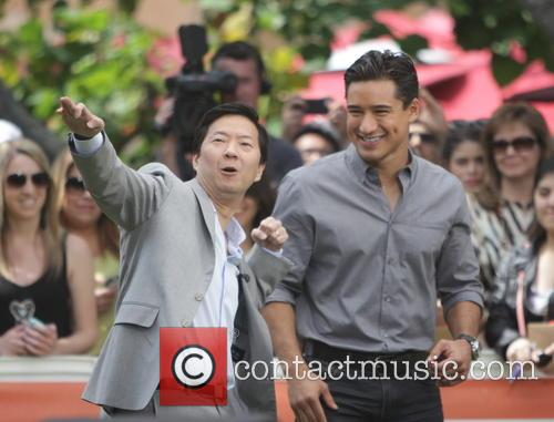 Ken Jeong and Mario Lopez 7