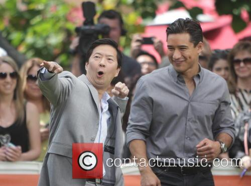 Ken Jeong and Mario Lopez 1