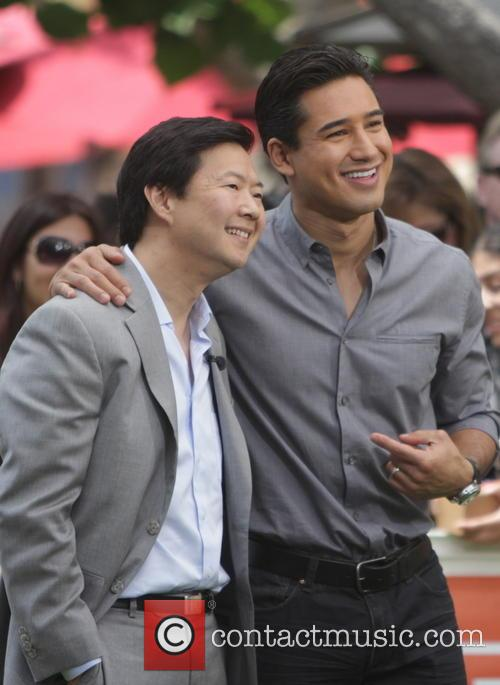 Ken Jeong and Mario Lopez 11