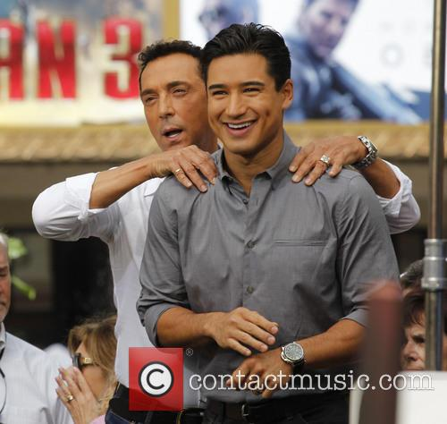 Bruno Tonioli and Mario Lopez 3