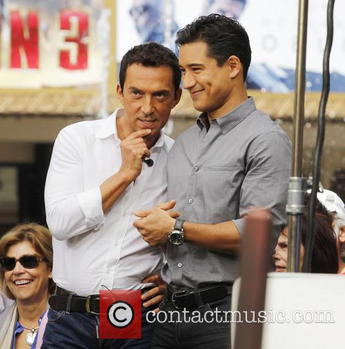 Bruno Tonioli and Mario Lopez 6
