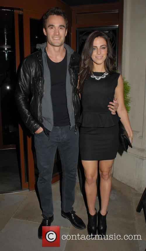 Thom Evans and Jessica Lowndes 2