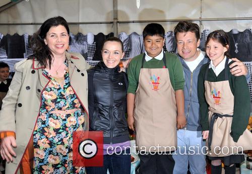 Jamie Oliver, Kirstie Allsopp and Victoria Pendleton 7