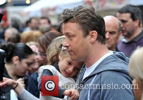 Jamie Oliver and Petal Oliver 1