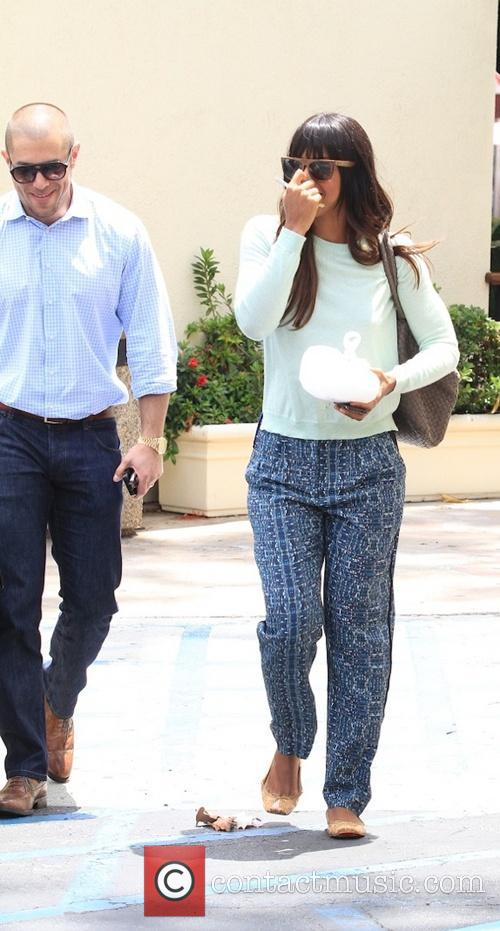 Kelly Rowland seen leaving Cafe Med