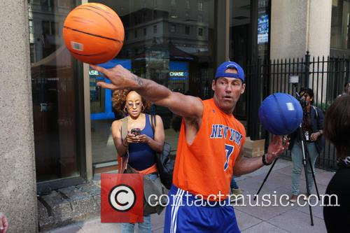 Knicks Rally Cry Outside MSG