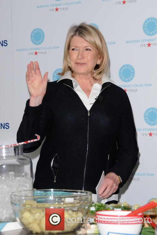 Macy's hosts Martha Stewart and Sarah Carey for a special Americana style cooking demonstration