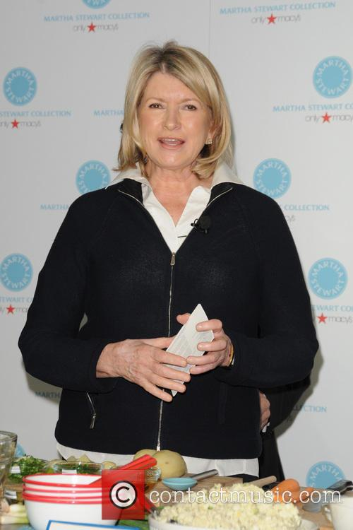 Macy's hosts Martha Stewart and Sarah Carey for...