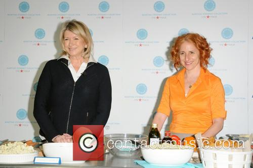 Martha Stewart and Sarah Carey 6