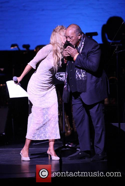 Wendy Atlas Oxenhorn and Quincy Jones 2