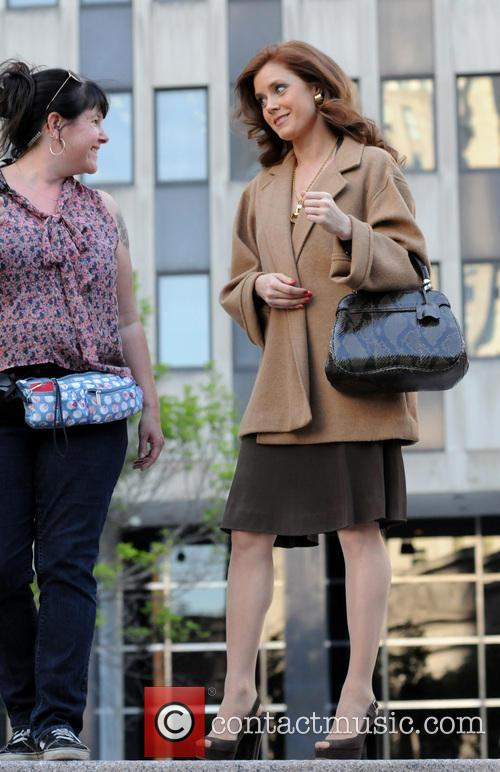 The cast of 'American Hustle' filming scenes