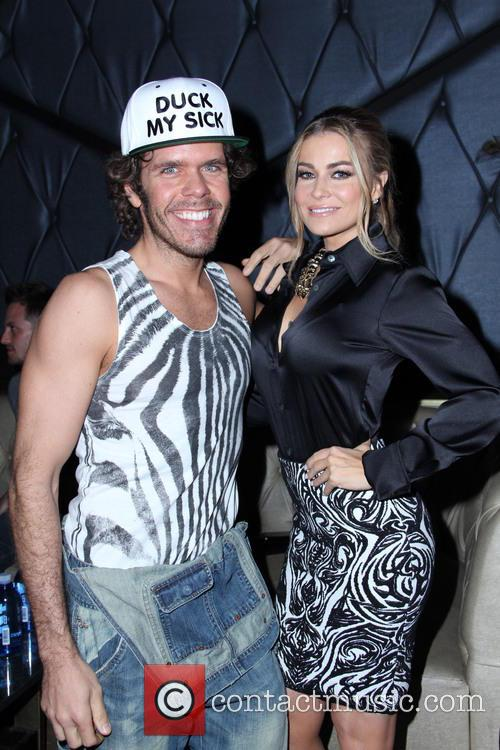 perez hilton carmen electra celebrity at bootsy bellows 3670364