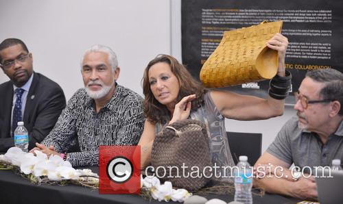 Donna Karen attends opening of the Discover Haiti...