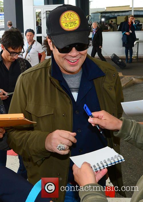 Benicio Del Toro Nice Airport