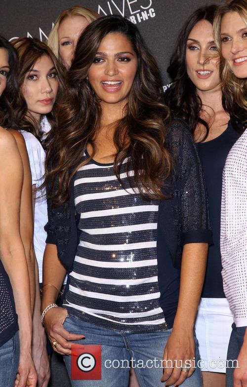 Macy's INC Brand Ambassador Camila Alves McConaughey hosts...