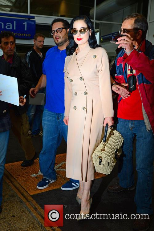 dita von teese celebrities out and about 3670940