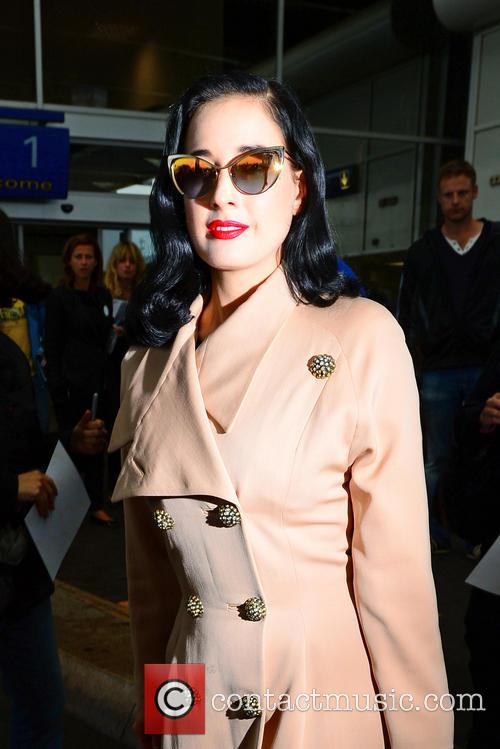 dita von teese celebrities out and about 3670941