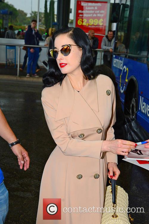 dita von teese celebrities out and about 3670944