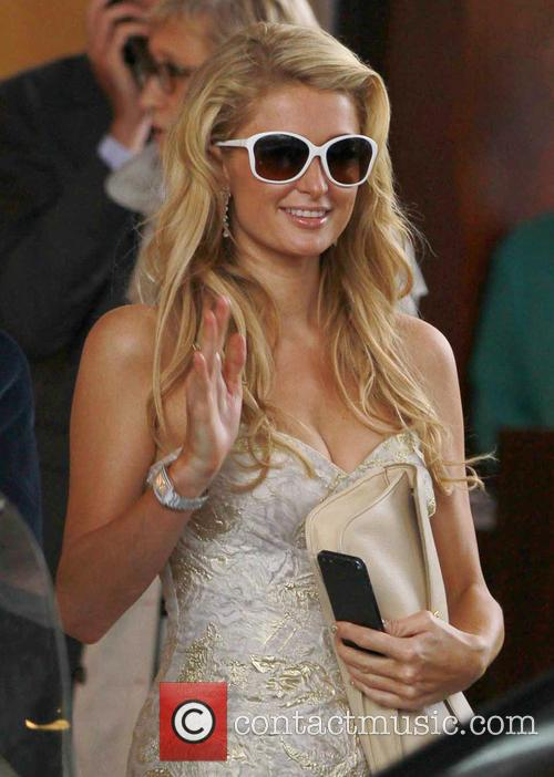 paris hilton celebrities out and about during 3671087