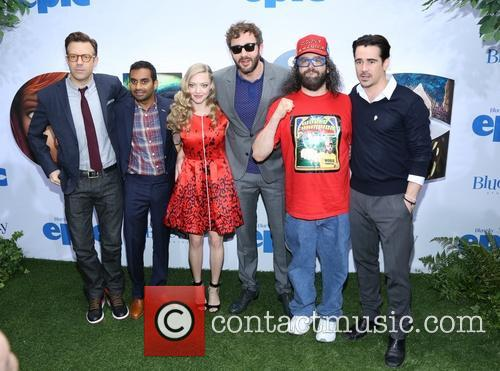 Jason Sudeikis, Aziz Ansari, Amanda Seyfried, Chris O'dowd and Colin Farrell 2