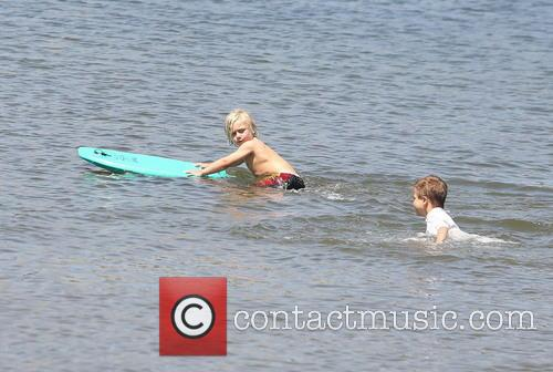 Gwen Stefani and Zuma Rossdale 4