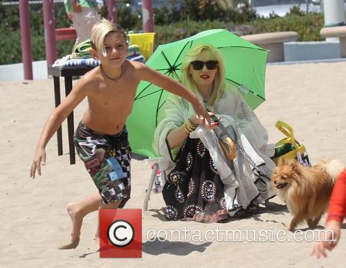 Gwen Stefani and Kingston Rossdale 30