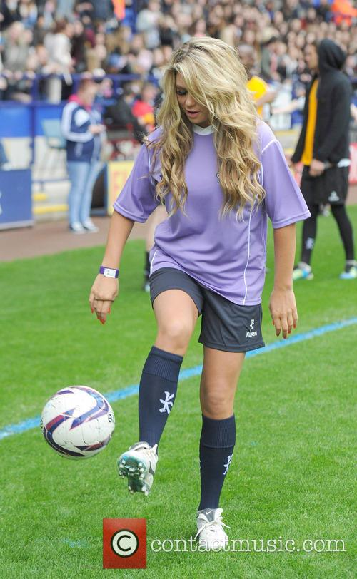 Celebrities at Soccer Six
