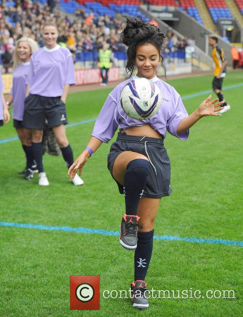 chelsee healey celebrities at soccer six 3670747