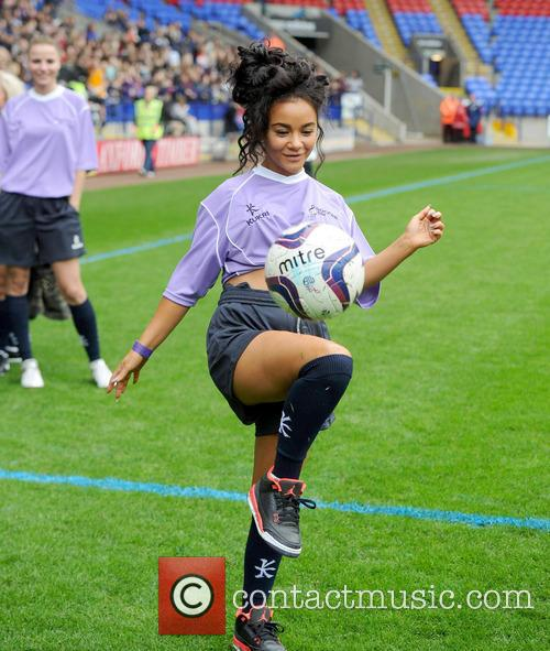 chelsee healey celebrities at soccer six 3670770