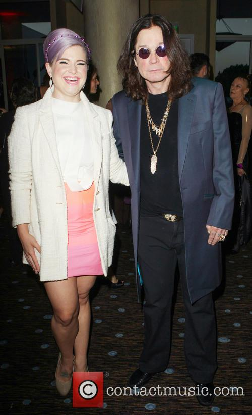 Kelly Osbourne and Ozzy Osbourne 2