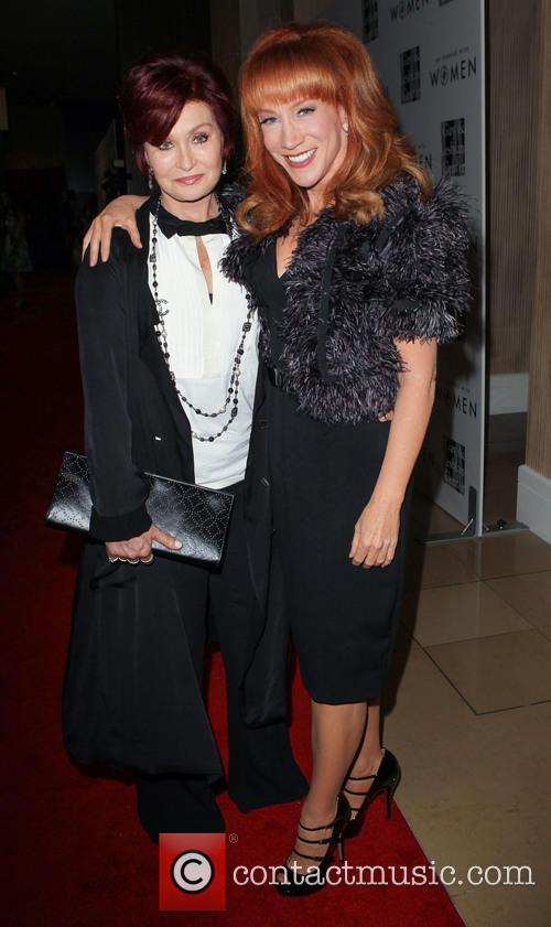 Sharon Osbourne and Kathy Griffin 1