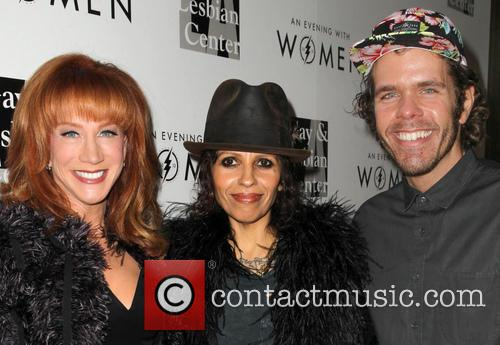Kathy Griffin, Linda Perry and Perez Hilton 7