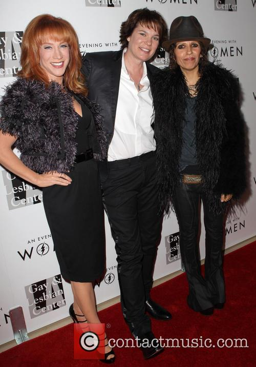 Kathy Griffin, Michelle Wolff and Linda Perry 4