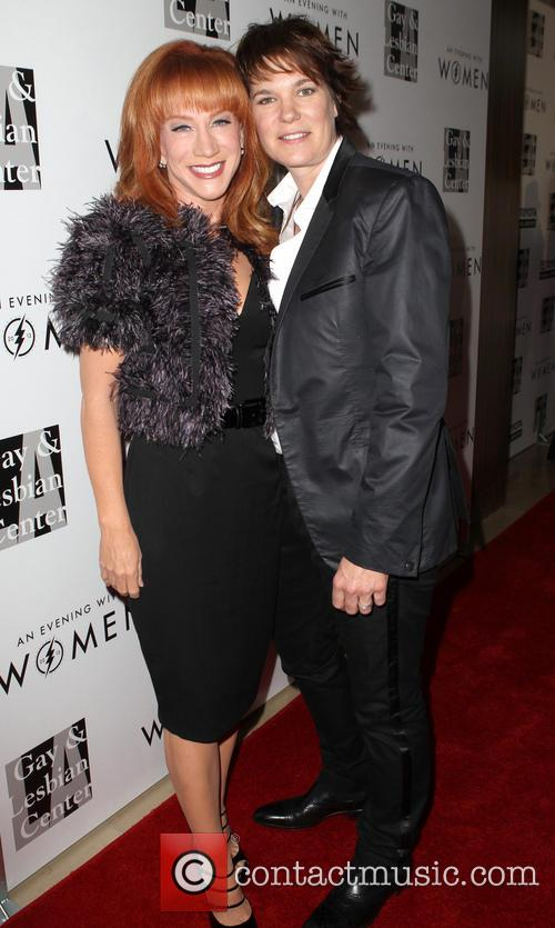 Kathy Griffin and Michelle Wolff 9