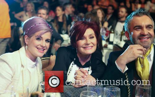 Kelly Osbourne, Sharon Osbourne and Martyn Lawrence Bullard 4
