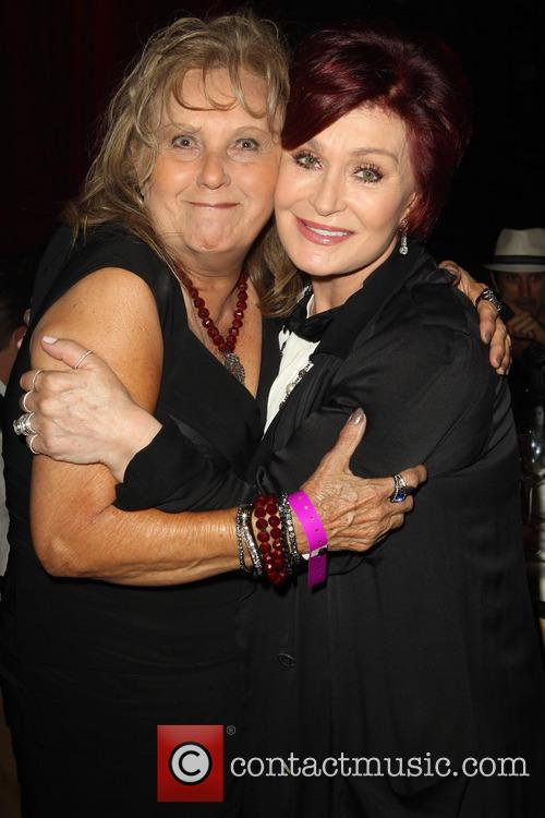 Linda Perry's Mom and Sharon Osbourne 1