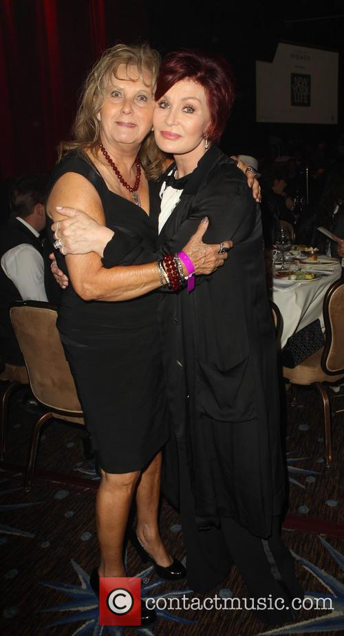 Linda Perry's Mom and Sharon Osbourne 2