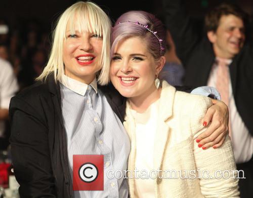 Sia and Kelly Osbourne 3