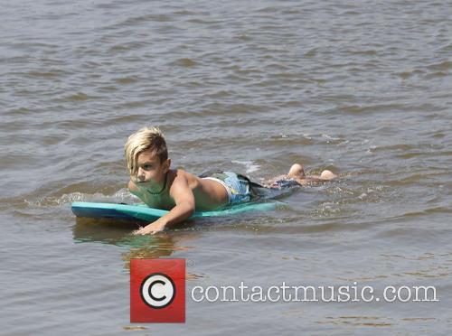 Gwen Stefani and Kingston Rossdale 37