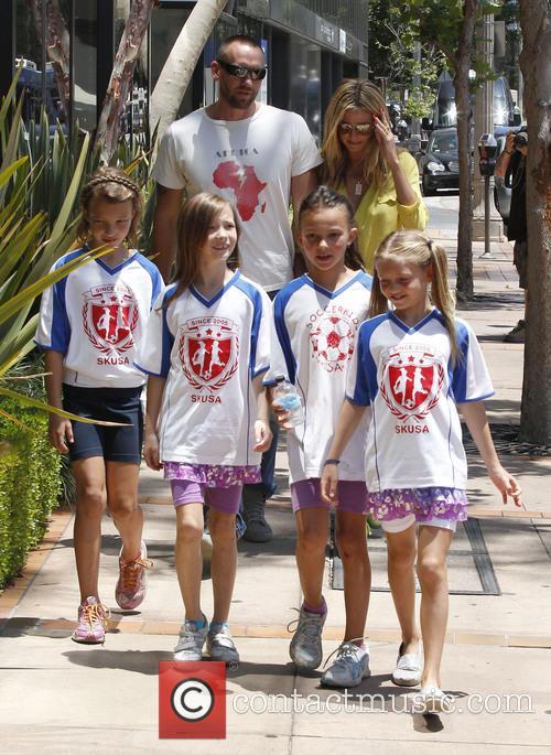 Heidi Klum, Martin Kristen and Leni Samuel 1