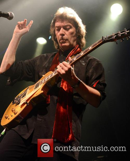 Steve Hackett performing at Vicar Street