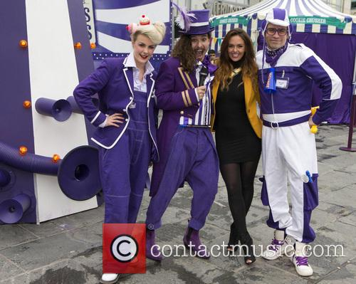 Jennifer Metcalfe visits the Cadbury Dairy Milk Marvellous...