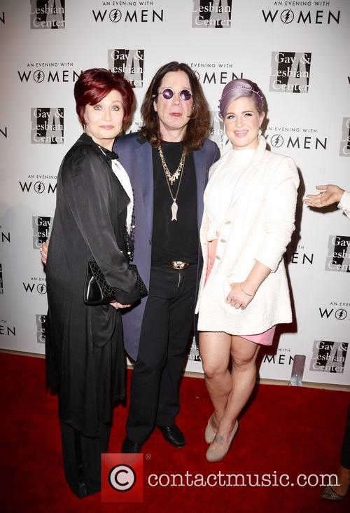 Sharon Osbourne, Ozzy Osbourne and Kelly Osbourne 2