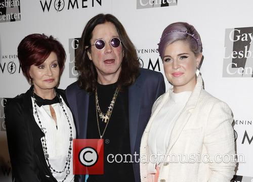 Sharon Osbourne, Ozzy Osbourne and Kelly Osbourne 5