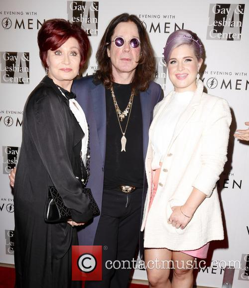 Sharon Osbourne, Ozzy Osbourne and Kelly Osbourne 6