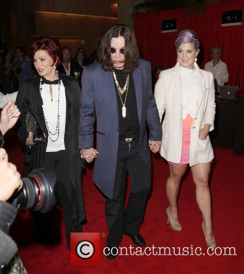 Sharon Osbourne, Ozzy Osbourne and Kelly Osbourne 7