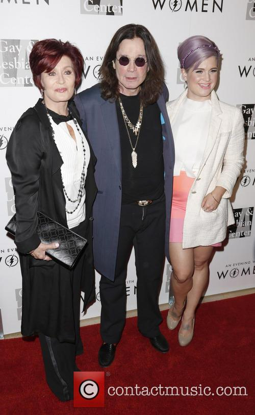 Sharon, Ozzy and Kelly Osbourne