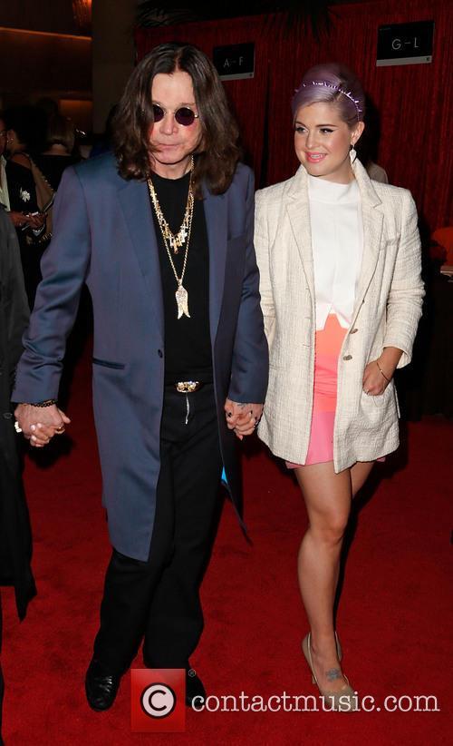 Ozzy Osbourne and Kelly Osbourne 2